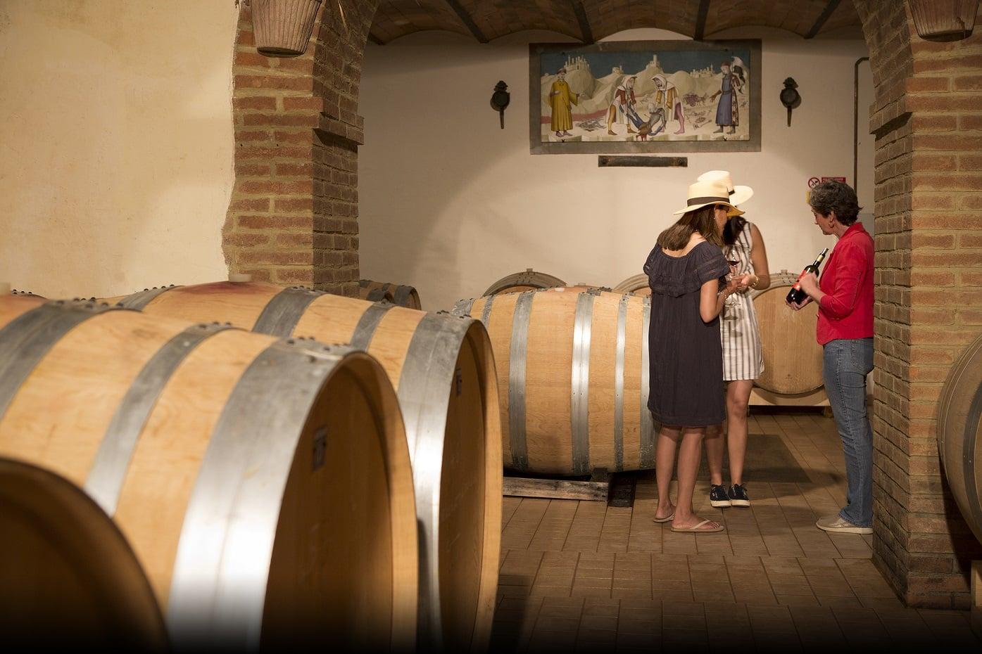 Come accogliere i turisti del vino Montalcino Casato Prime Donne
