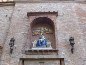 Monte Oliveto Maggiore Torre di ingresso