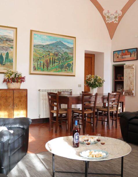 Fattoria del Colle - Agriturismo in Toscana - Appartamento Oliviera