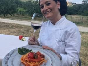 Doriana Marchi - chef della Fattoria del Colle