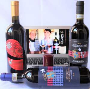Club offer by Donatella Cinelli Colombini: Brunello di Montalcino, Supertuscan IGT Il Drago e le 8 Colombe, Chianti Superiore
