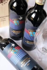 Offerta Brunello di Montalcino annate 5 stelle: 1997, 2007, 2012 e calici Riedel