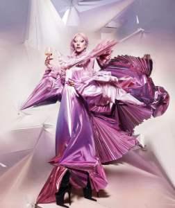 Lady-Gaga-Champagne-rosé-Dom-Pérignon