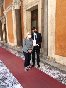 Senato della Repubblica: Dario Stefano e Donatella Cinelli Colombini - Turismo del vino