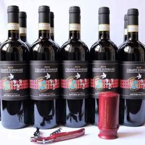 Offerta-Chianti-2019-12-bottiglie-Donatella-Cinelli Colombini