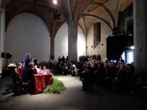 Firenze-Palazzo-Vecchio-Donne-del-Vino-in-preparazione-del-G20