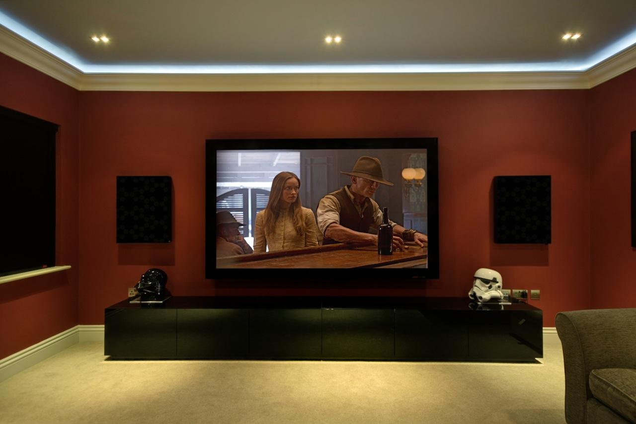 Home Cinema Room 2  Ideas on Pinterest  Small Home