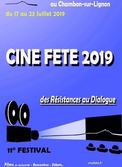 11ème Festival Ciné Fête du Chambon sur Lignon