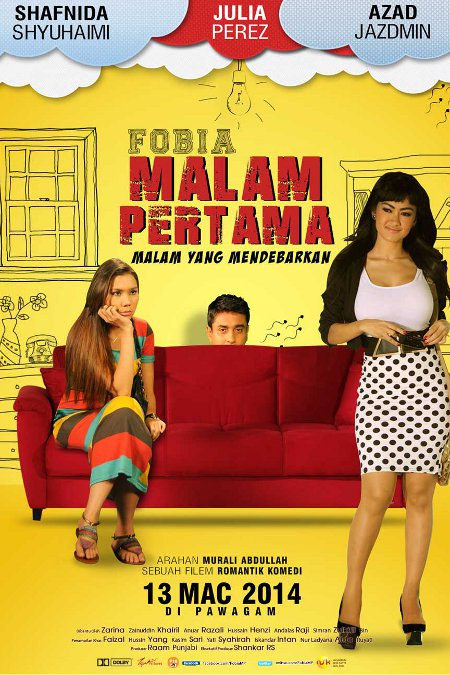 Image result for fobia malam pertama, nsk film credits