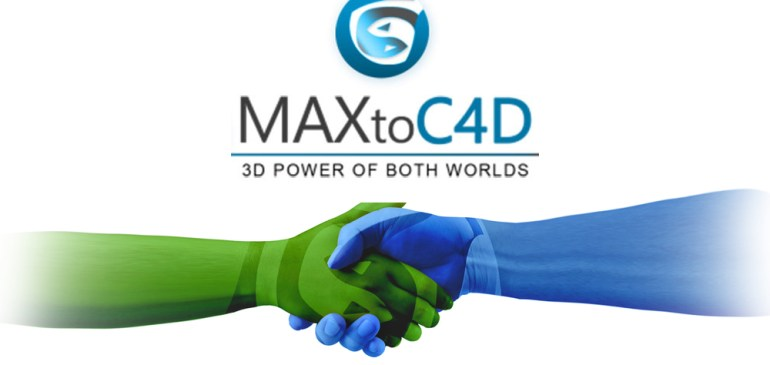 MAXtoC4D – The only 3DsMax to C4D Plug-in