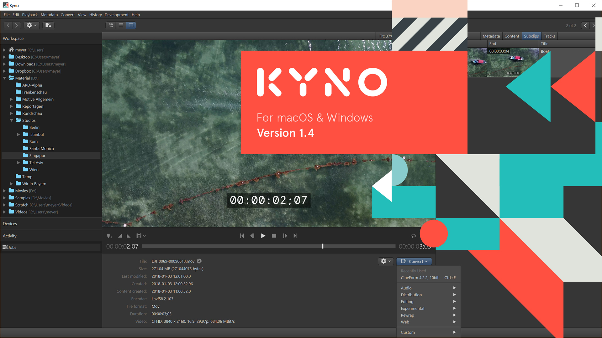 Kyno 1 4 is Here – Windows Support, LUTs and More | Shot With a Rock