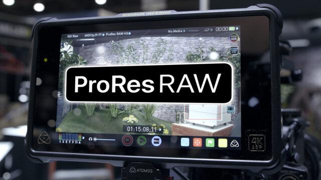 ProRes RAW