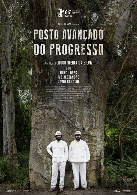 """""""Posto Avançado do Progresso"""" (2016)_poster"""