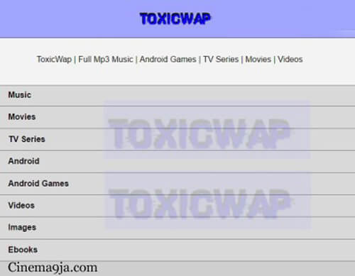Toxicwap Series and Movies 2018/2019 Latest Download on