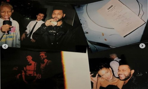 Bella Hadid thanks The Weeknd as she shares photos from her 22nd surprise birthday