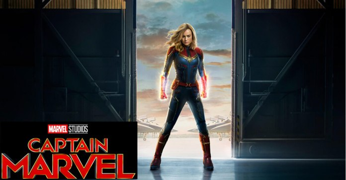 captain marvel 2019 wallpaper Captain Marvel 2019 Movie Review and Cast: The Next big thing in Marvel Universe