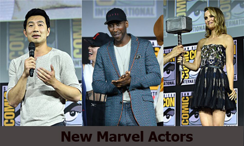 New Marvel Actors