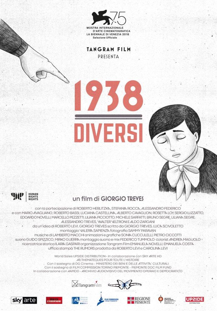 """PRESENTAZIONE DI """"1938: DIVERSI"""""""