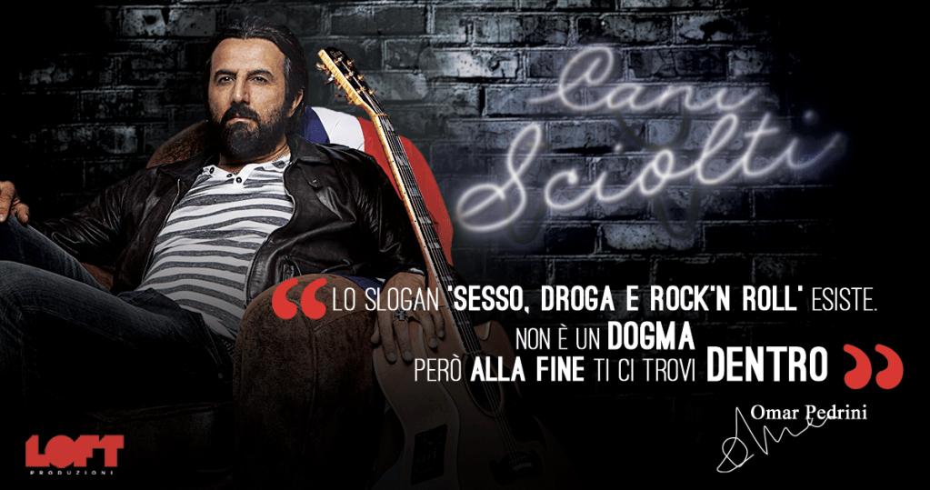 """Il Messaggero ROMA   31-05-2019   Omar Pedrini ospite di """"Cani sciolti"""""""