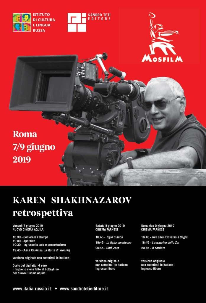 Retrospettiva di Karen Šachnazarov, il cinema russo a Roma!