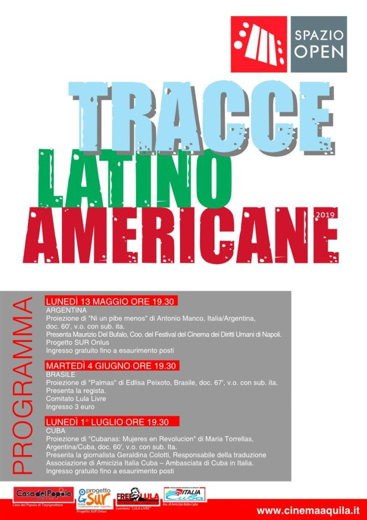 SPAZIO OPEN: TRACCE LATINO AMERICANE