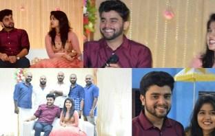 Jimikki Kammal Fame Sheril G Kadavan Got Engaged