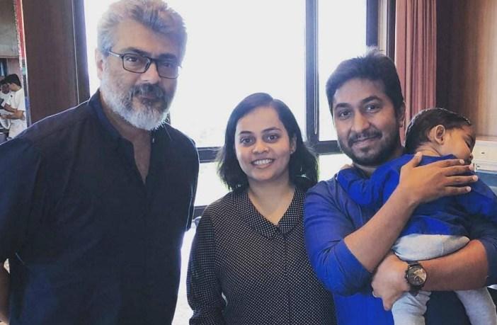 vineeth sreenivasan meets thala ajith unexpectedly