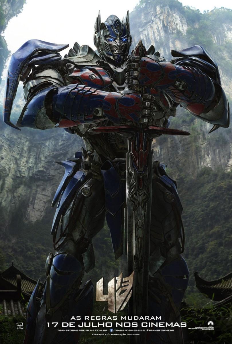Cartaz-Promocional-e1403889073832 Trailer: Transformers: A Era da Extinção