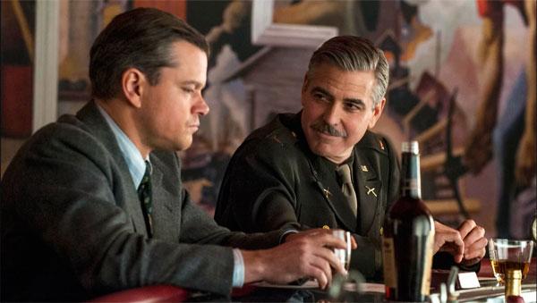George-Clooney-Cacadores-de-Obras-Primas Caçadores de Obras-Primas