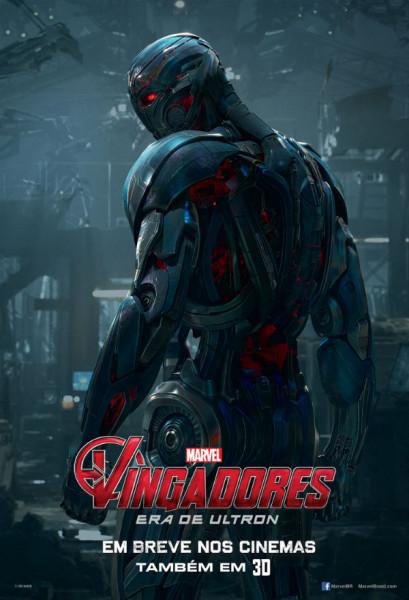 Poster-A-Era-de-Ultron-409x600 Vilão de Os Vingadores 2 ganha seu pôster solo
