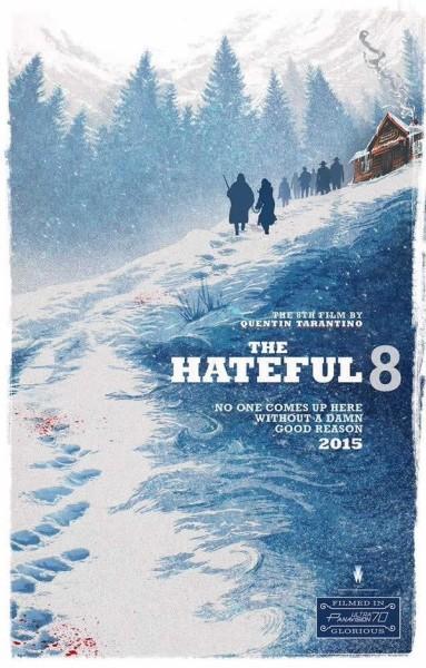 Poster Os Oito Odiados