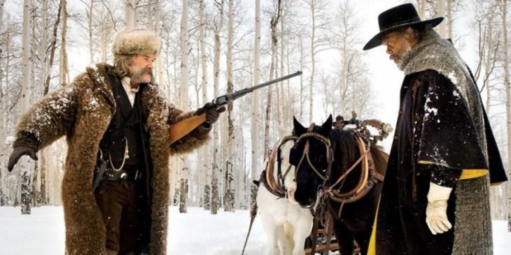 Os Oito Odiados parece ser uma mistura de tudo que Tarantino fez em sua carreira