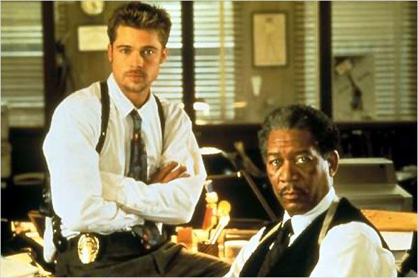 20 Anos de Seven - Brad Pitt Morgan Freeman
