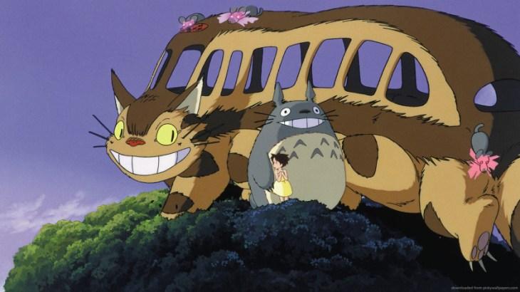Meu Vizinho Totoro - onibus-gato