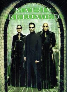 Poster Ficcao Cientifica anos 2000 - Matrix Reloaded
