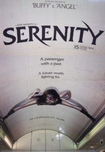 poster serenity poster ficcao cientifica dos anos 2000