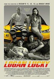 poster logan lucky filmes de comedia 2017