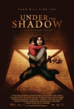 poster sob a sombra – melhores filmes de terror de 2017