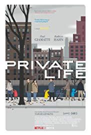 melhores filmes de romance de 2018 – private life