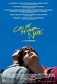 poster me chame pelo seu nome – melhores filmes de romance de 2018