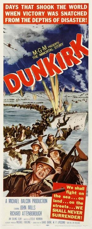 Dunkirk, film de 1958 (affiche)