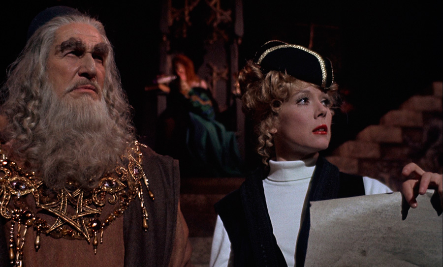 Theatre of Blood (1973) Vincent Price et Diana Rigg