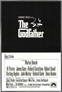 Godfather Il padrino locandina