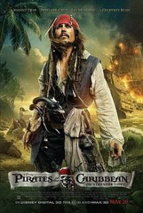 Pirati dei caraibi confini del mare locandina
