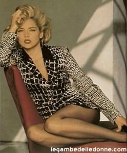 Sharon Stone in collant