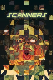 "Affiche du film ""Scanners"""