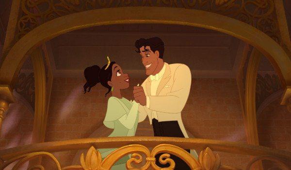 Personajes de la princesa y el sapo