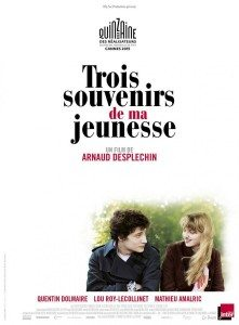 CinemaNet tres recuerdos de mi juventud Arnaud Desplechin