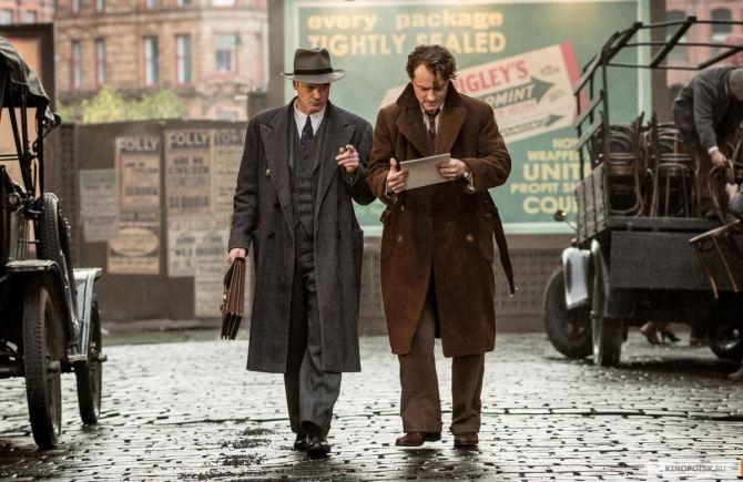 El editor de libros Thomas Wolfe Perkins Jude Law Colin Firth