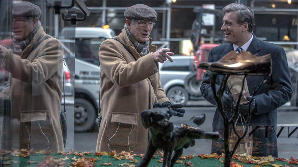 CinemaNet Norman el hombre que lo conseguía todo Richard Gere